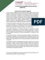 Analisis Del Desarrollo Economico Forestal