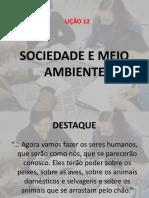 Lição 12 - Sociedade e Meio Ambiente.pptx