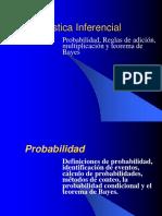 Reglas de Adicion Multiplicacion y Teorema de Bayes