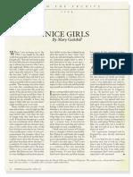 Gaitskill Nice Girls Harpers