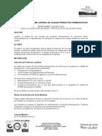Protocolo Programa Control de Calidad Productos Farmaceuticos