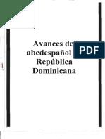 Avances del abcdespañol en República Dominicana, 1997