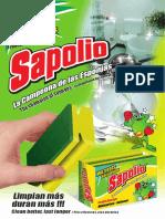 Hv Sapolio Esponjas y Fibras