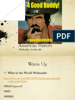 wed oct 4 american history