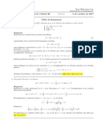 Corrección primer parcial Cálculo III (Ecuaciones diferenciales), tarde,  2 de octubre de 2017