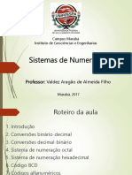 Aula 2 - Eletrônica Digital (Sistemas de Numeração)