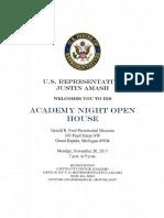 mi03 service academy night information packet