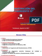 00 Administración Del Mantenimiento II P-2017 (Unidad 01 Provisorio (17!08!2017)