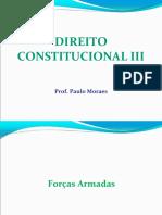 Direito Constitucional III for as Armadas e Seguran a p Blica