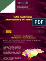 Alfabetización y el Contexto Social,  Honduras 2005