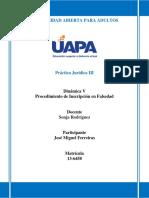 Practica Juridica III Tarea 5