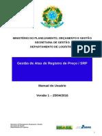 Manual Gestao de Atas de Registro de Preco Srp v1