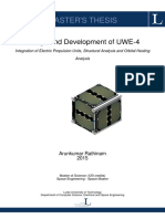 Design and Development of UWE-4