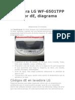 Lavadora LG WF.doc