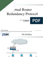 04 Virtual Router Redundancy Protocol