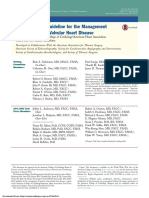 2014 AHA ACC Guideline for the Management VHD