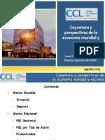 Cesar Penaranda - Coyuntura y Perspectivas de La EconomiÂ-A Mundial y Nacional