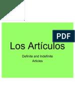 articles definite  indefinite practice