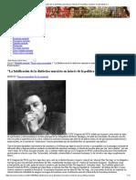 """""""La Falsificación de La Dialéctica Marxista en Interés de La Política Maoísta""""_ Evald Iliénkov"""