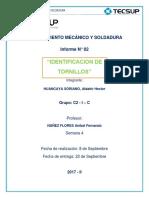 Mantenimiento Mecánico y Soldadura Practica 2