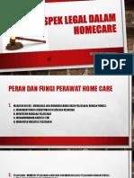 III Aspek Legal Dalam Homecare