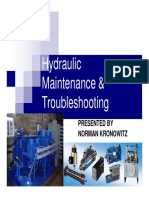 Hydraulic Maintenance