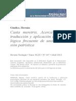 Casta Meretrix Acerca Traduccion Aplicacion