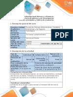 Guía de Actividades y Rúbrica de Evaluación - Fase 1. Analizar El Escenario y Plantear Un Escenario Negativo y Positivo