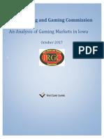 Iowa Gaming Market Analysis Whitesand Gaming