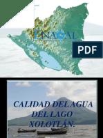 Puntos Monitoreados en el Lago Xolotlán 2013