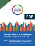 Protocolo Unico de Intervencion Provincia Del Neuquén