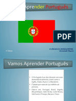 Apreentaçaõ Português Portugal 1ª Aula
