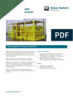 Compressor Rigsafe Booster 1800 PSI Data Sheet