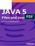 Java 5 Files and Java Io