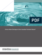 Enquirica - Emerging Economy Water Demand - August 2010