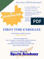 media   journalismscholarship award