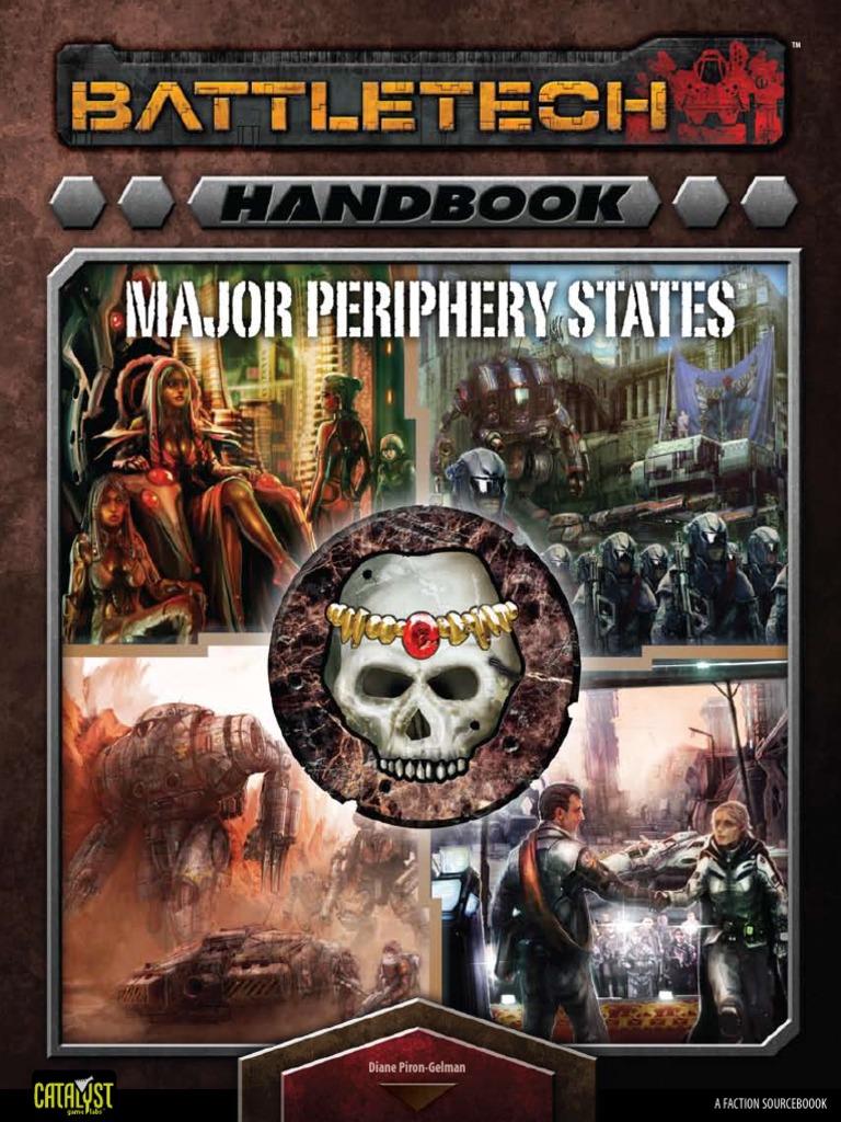 Battletech 35203 - Handbook Major Periphery States   Battle Tech