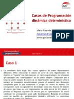 Semana 06 - Casos de Programación Dinámica Determinística
