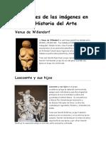 Funciones de las imágenes en la historia del arte