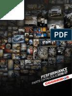 Goodridge Catalogue Performance Parts