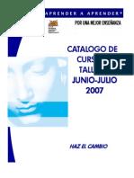 CATALOGO JUNIO-JULIO 2007 LICEO