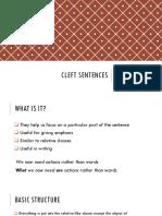 CLEFT SENTENCES.pptx