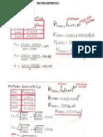 Poblacion Futura - Metodos