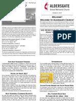 Bulletin Supplement October 8 2017