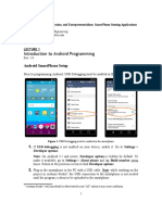 L1 - Intro to Android Programming