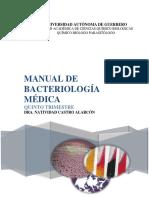 MANUAL DE BACTERIOLOGÍA MÉDICINA