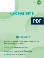 Introduction to Ecosystems Presentation - Basic