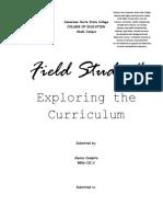 271751792 Field Study 4 Exploring the Curriculum