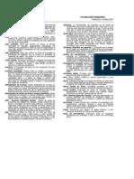 Terminologias Vocabulario Financeiro