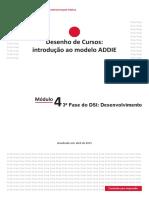 Introdução Ao Modelo ADDIE_Módulo 4 Alterado